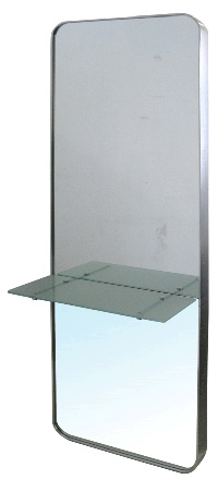 Dressing out units salon furniture sundries total hair for Full length mirror with shelf