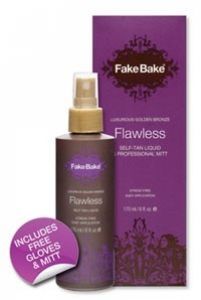 Fake bake barrier cream